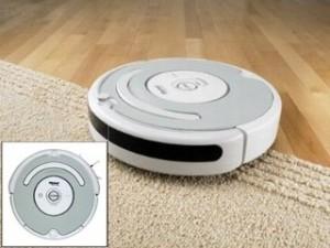 A porszívó robot kitisztítja a szőnyeget is