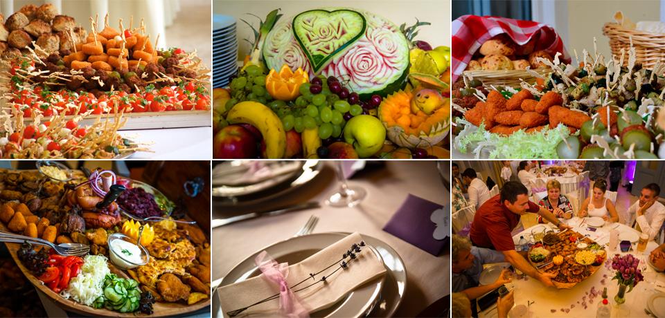 esküvői ebéd